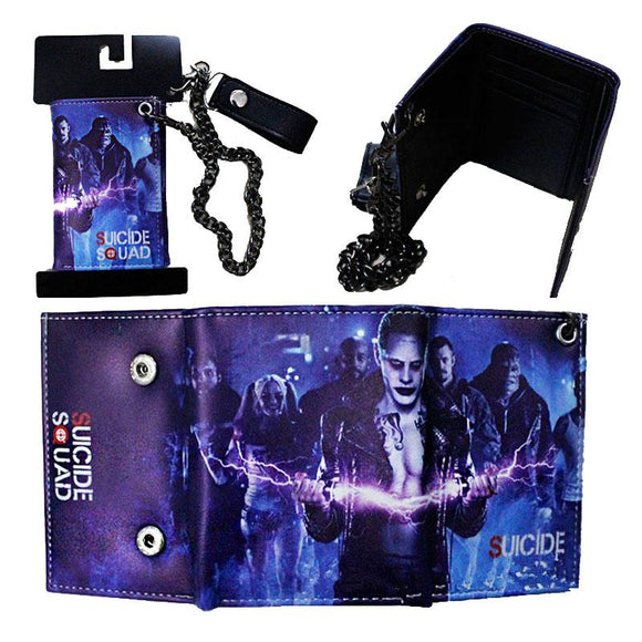 Suicide Squad Wallet With Chain
