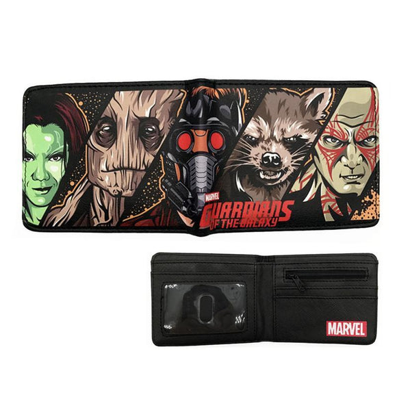 Marvel Guardians Of The Galaxy Pu Leather Bifold Wallet
