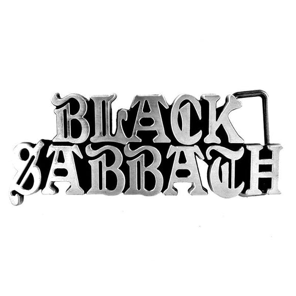 Black Sabbath Belt Buckle