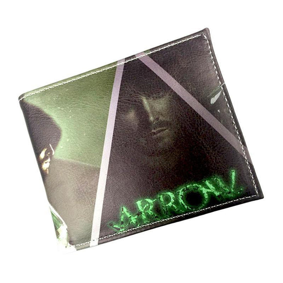 Arrow TV Series PU Leather Bifold Wallet - Undead Inc Wallet,