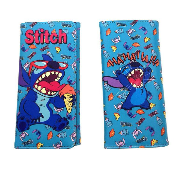 Disney Stitch Ice-Cream Long Line Wallet Purse - Undead Inc Wallet,
