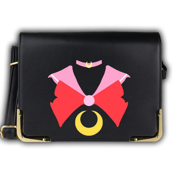 Sailor Moon PU Leather Book Messenger Bag