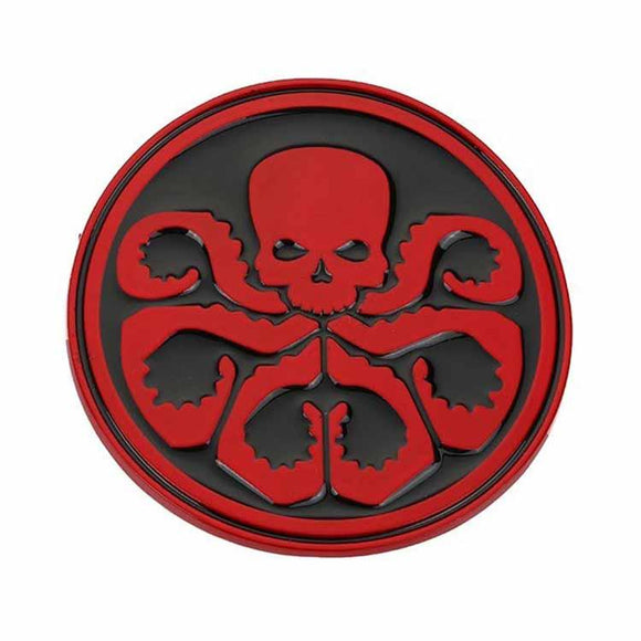 Captain America Red Skull Hydra Belt Buckle - Undead Inc Belt Buckle,