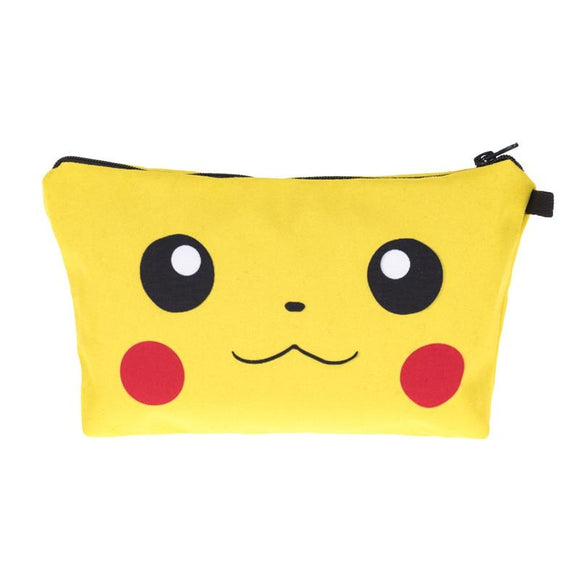 Pikachu Pokemon Makeup Cosmetics Bag