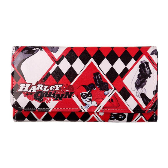 Harley Quinn Long Line Wallet