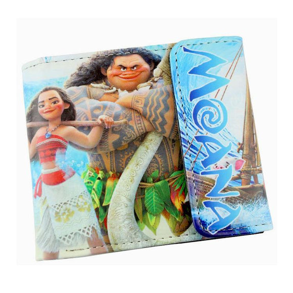 Moana PU Leather Wallet