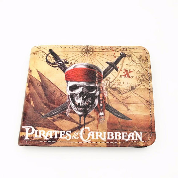 Pirates Of The Caribbean PU Leather Wallet