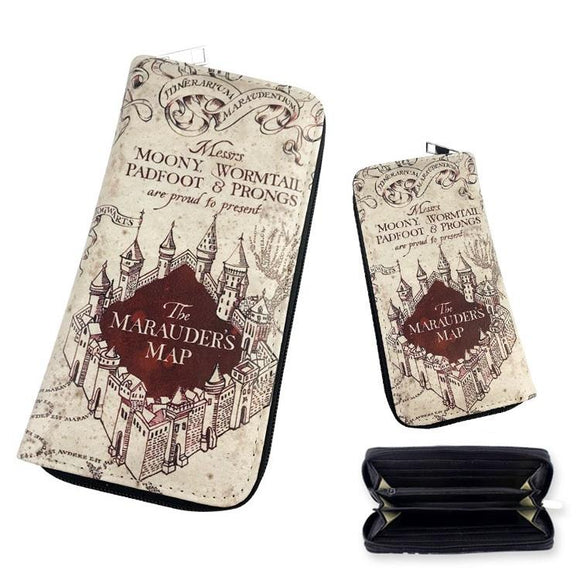 Harry Potter Marauder's Map Long Line Wallet - Undead Inc Wallet,