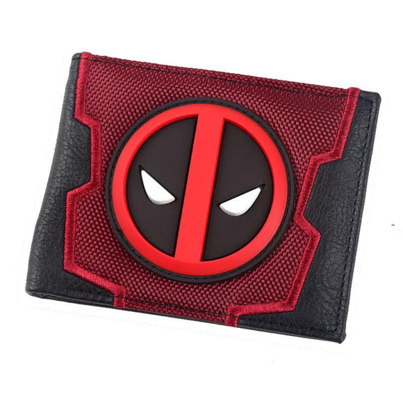 Deadpool Pu Leather 3D Logo Wallet - Undead Inc Wallet,