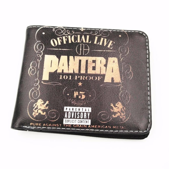 Pantera PU Leather Wallet