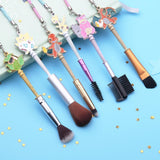 Pokemon Makeup Brush Set With Charmander Charizard Togepi