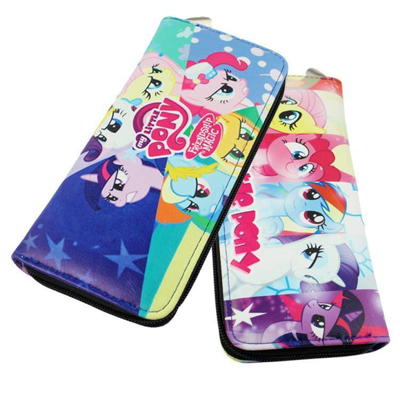 My Little Pony Friendship Is Magic Long Line Wallet