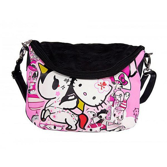 Hello Kitty X Tokidoki Unicorno Shoulder / Messenger Bag