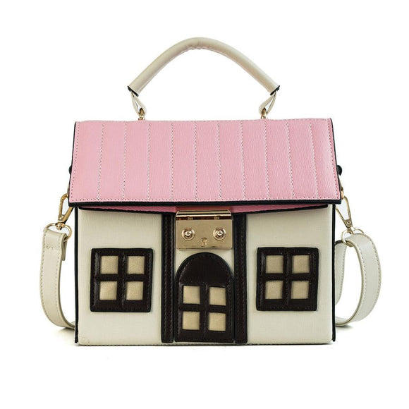 Doll House Handbag / Cross Body Shoulder Bag
