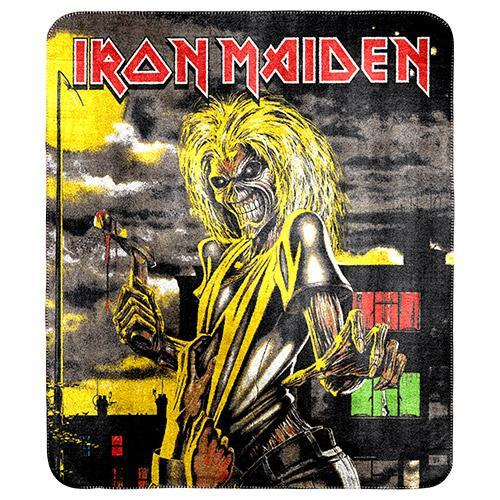 Iron Maiden The Killers Fleece Blanket