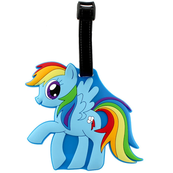 Rainbow Dash My Little Pony Bag Tag