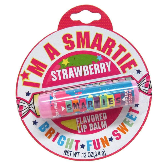Smarties Strawberry Candy Flavoured Lip Balm