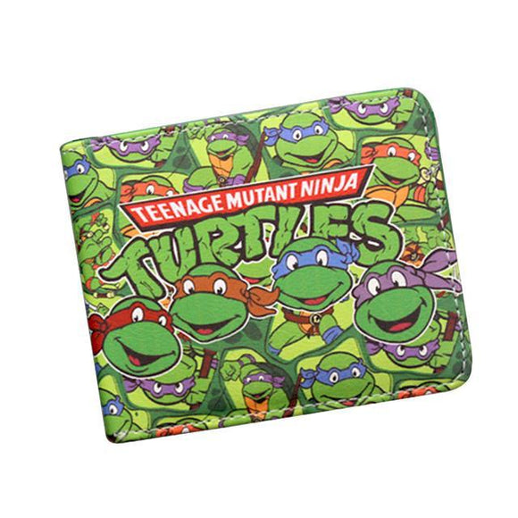 Ninja Turtles PU Leather Bifold Wallet