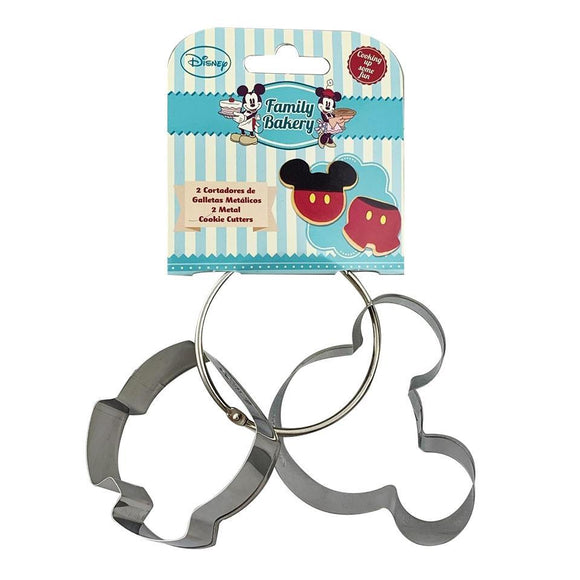 Disney Mickey Mouse Cookie Cutter Set