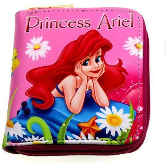 Disney Princess Ariel  PinkPU Leather Wallet - Undead Inc Wallet,