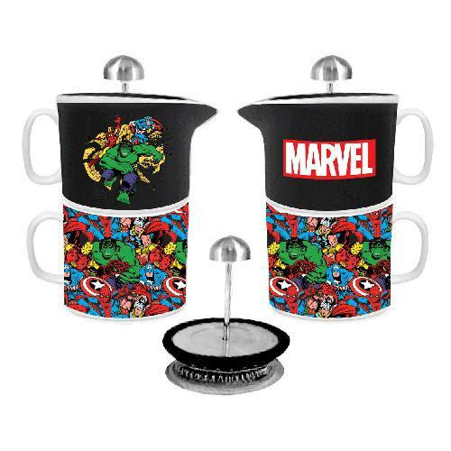 Marvel Comics Coffee For One Mug & Teapot Set
