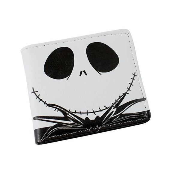 Nightmare Before Christmas Jack Skellington PU Leather Bifold Wallet