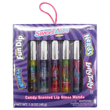 Wonka Candy Flavored Lip Gloss Box Set Of 5 Nerds Runts Laffy Taffy