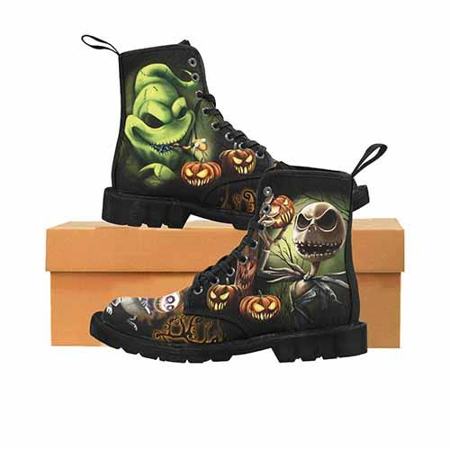 Nightmare Before Christmas Pumpkin King LADIES Martin Boots