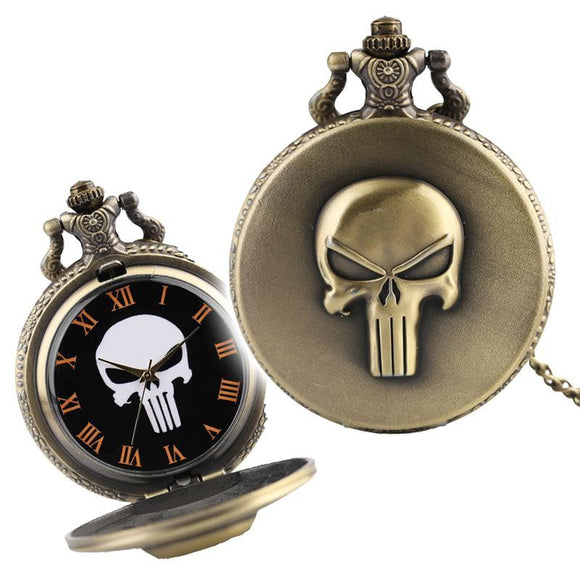 The Punisher Pocket Watch