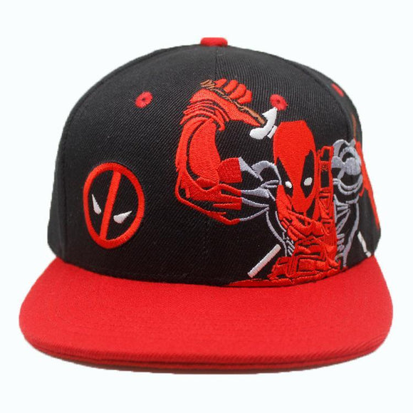 Deadpool Comic Book Cap Hat