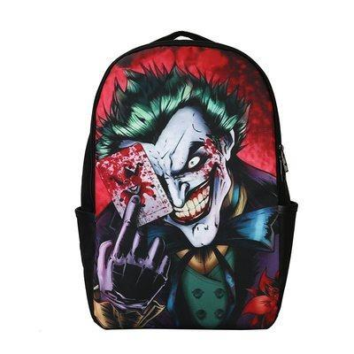 The Joker Card Back Pack Bag