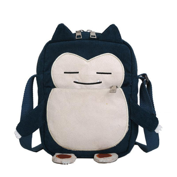 Pokemon Snorlax Shoulder Bag