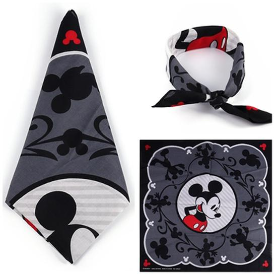 Mickey Mouse Bandanna Scarf