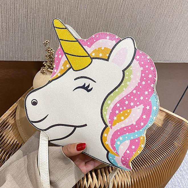 Rainbow Unicorn Crossbody / Shoulder Bag Messenger Bags Unicorn
