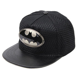 Batman Metal Logo Cap Hat