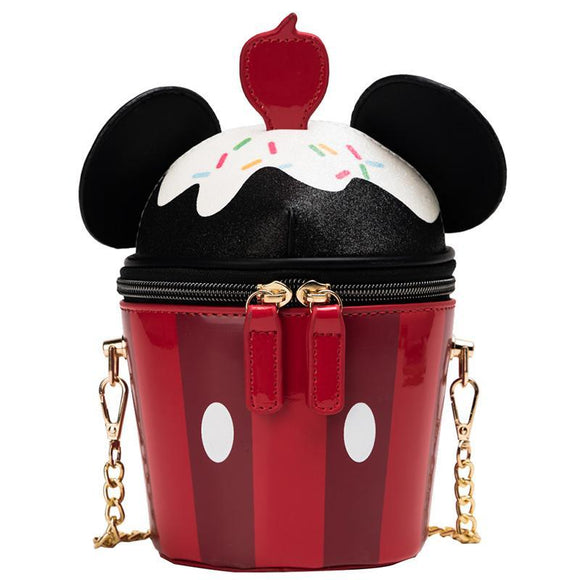 Mickey Mouse Cupcake Shoulder Bag Purse
