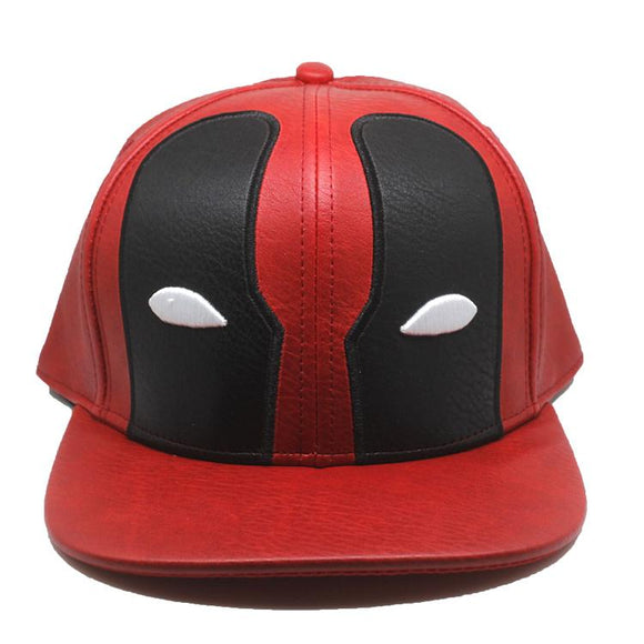 Deadpool Pu Leather Cap Hat