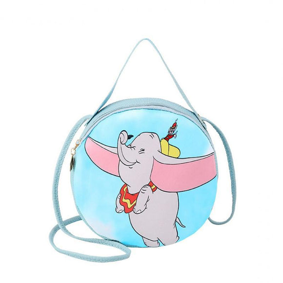 Dumbo Flying Small Size - PU Leather Shoulder Hand Bag
