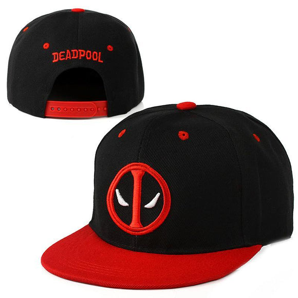 Deadpool Logo Red Brim Cap Hat