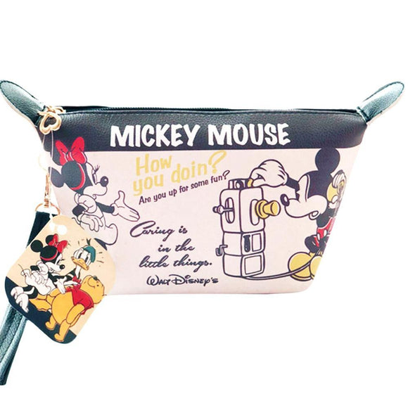 Mickey & Minnie Mouse Makeup Cosmetics Bag