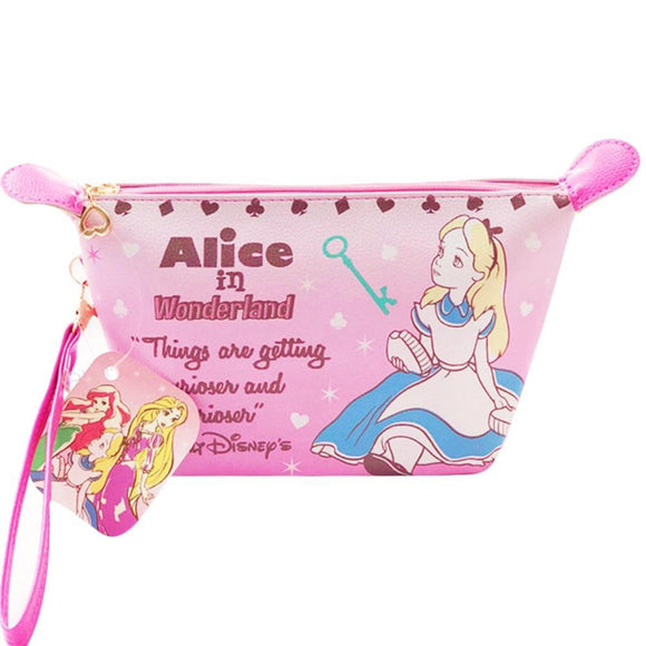 Alice In Wonderland - Things Getting Curiouser Makeup Cosmetics Bag