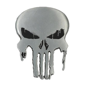 The Punisher Skull Belt Buckle