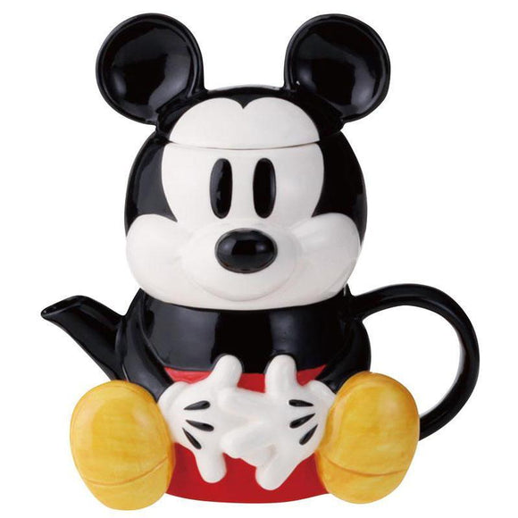 Mickey Mouse Mug & Teapot Set