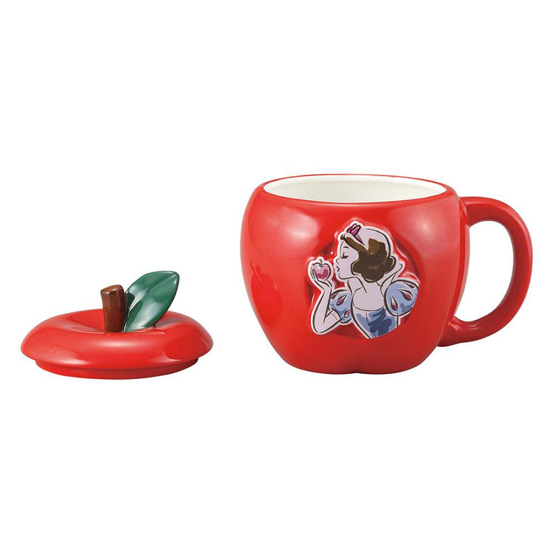 Snow White Apple Mug With Lid Drinkware Disney