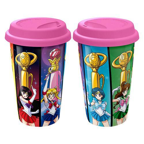 Sailor Moon Ceramic Travel Coffee Mug