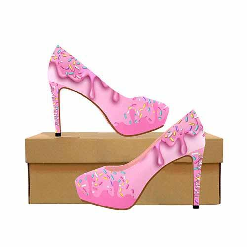 Sweet Treats Cupcake Platform High Heels