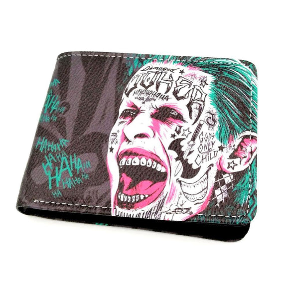 Suicide Squad Joker Pu Leather Wallet