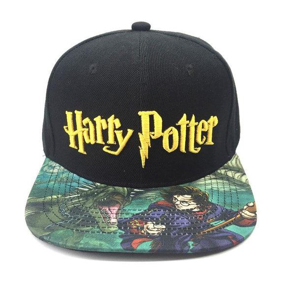 Harry Potter Printed Brim Cap Hat