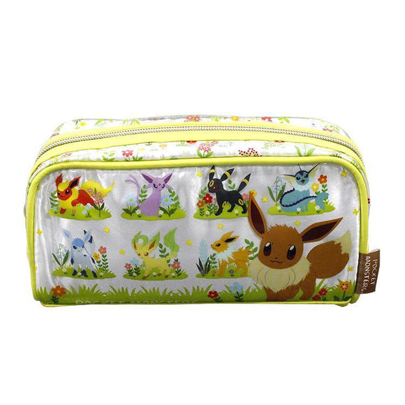 Pokemon Eevee Evolution Makeup Cosmetics Bag