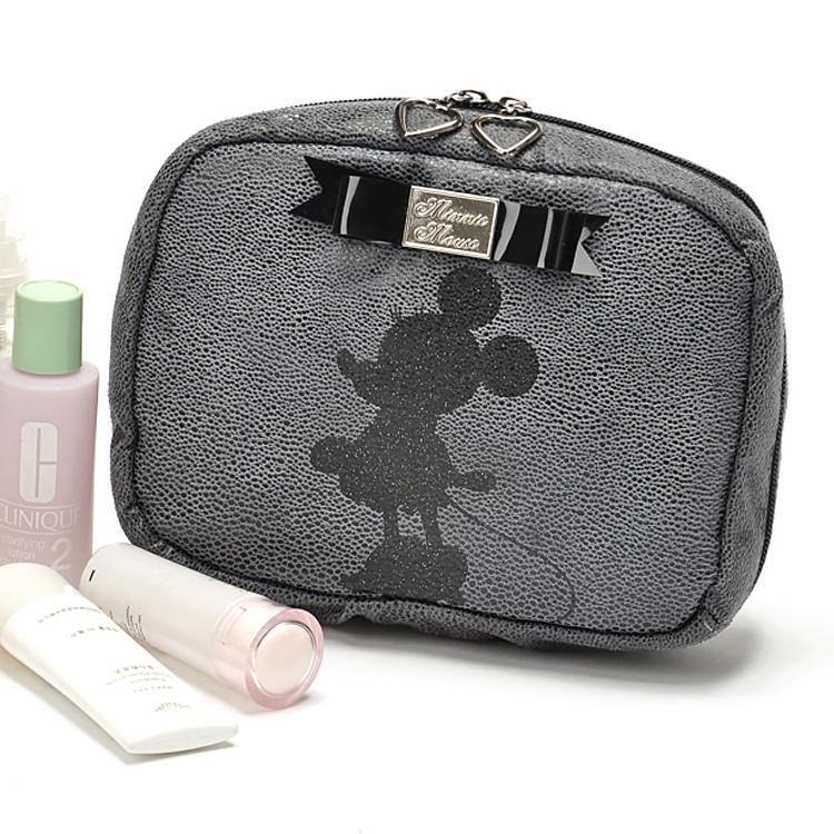 Minnie Mouse Lux Makeup Cosmetics Bag